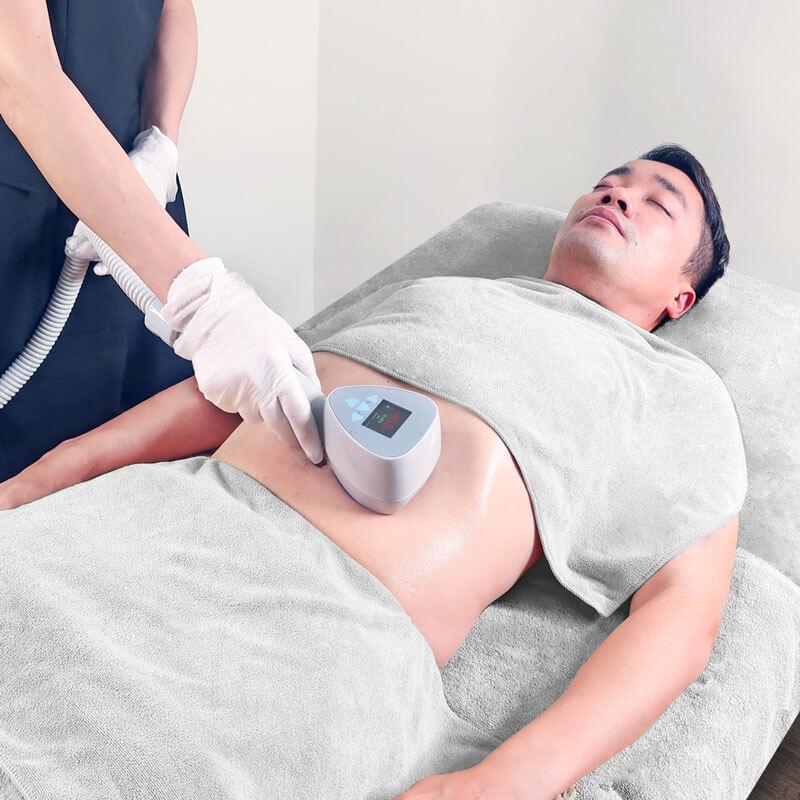 Exilis-Body-Toning-Skin-Tightening-treatment-Men-Expressions-singapore